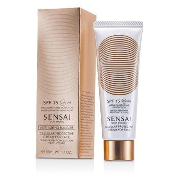KaneboSensai Silky Bronze Crema Protectora Celular SPF 15 50ml/1.7oz