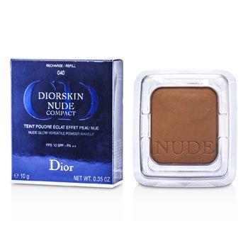 Christian DiorDiorskin Nude Compact Nude Glow Versatile Powder Makeup SPF 10 Refill10g/0.35oz
