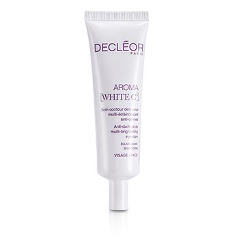 DecleorAroma White C+ Anti-Dark Circle Multi-Brightening Eye Care (Salon Size) 30ml/1oz
