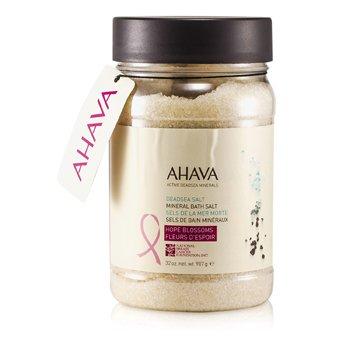 AhavaDeadsea Salt Sal de Ba�o del Mar Muerto de Flores de Esperanza 907g/32oz