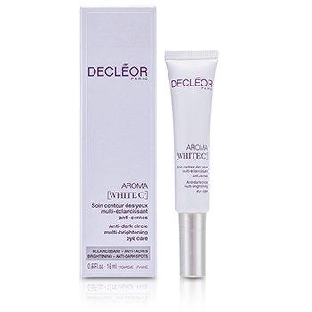DecleorAroma White C+ Anti-Dark Circle Multi-Brightening Eye Care 15ml/0.5oz