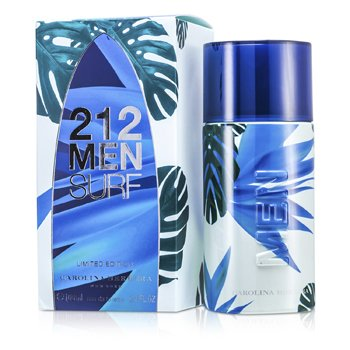 Carolina Herrera212 Surf Eau De Toilette Spray (Edici�n Limitada) 100ml/3.4oz