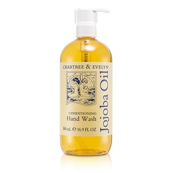 Crabtree & EvelynJojoba Oil Jab�n de Manos Acondicionante 500ml/16.9oz