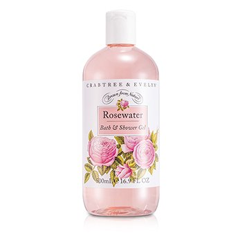 Crabtree & Evelyn Rosewater Bath & Shower Gel  500ml/16.9oz