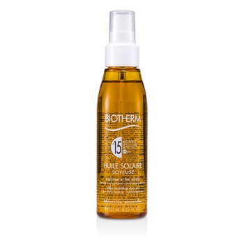 Biotherm Huile Solaire Soyeuse Aceite Protecci�n Solar SPF 15 UVA/UVB  125ml/4.22oz