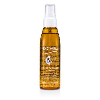 BiothermHuile Solaire Soyeuse SPF 15 UVA/UVB Protection Sun Oil 125ml/4.22oz