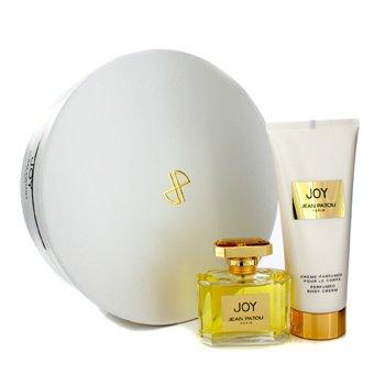 Jean Patou Joy Coffret: Eau De Parfum Spray 75ml/2.5oz + Body Cream 200ml/6.7oz  2pcs