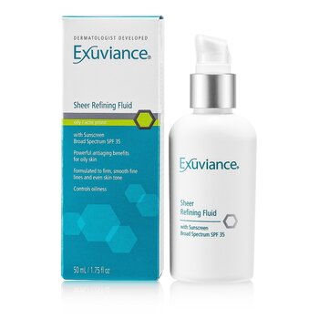 ExuvianceSheer Refining Fluid SPF 35 (For Oily/ Acne Prone Skin) 50ml/1.75oz