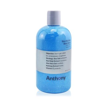 Anthony Logistics For Men Exfoliante Corporal de Quelpo de Mar Az�l  355ml/12oz