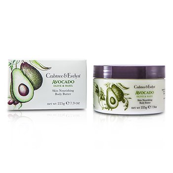 Crabtree & EvelynAvocado, Olive & Basil Skin Nourishing Body Butter 225g/7.9oz