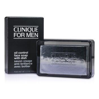 Clinique Oil Control Face Soap with Dish  150g/5.2oz