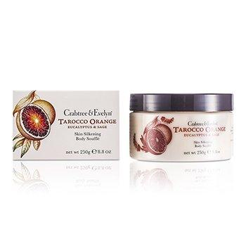 Crabtree & EvelynTarocco Orange, Eucalyptus & Sage Skin Silkening Body Souffle 250g/8.8oz