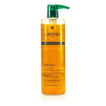 Rene FurtererOkara Light Activating Shampoo - For Highlighted, Bleached Hair (Salon Product) 600ml/20.29oz