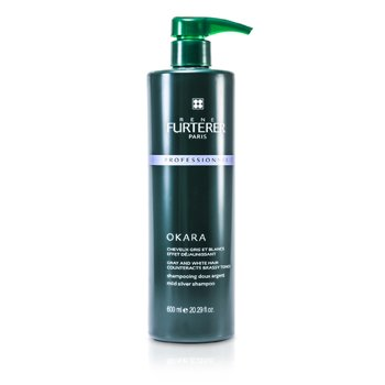 Rene FurtererOkara Mild Silver Shampoo - For Gray and White Hair (Salon Product) 600ml/20.29oz