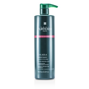 Rene FurtererOkara Radiance Enhancing Shampoo - For Color-Treated Hair (Salon Product) 600ml/20.29oz