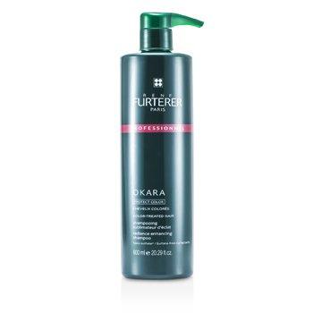 Rene Furterer Okara Radiance Enhancing Shampoo – For Color-Treated Hair (Salon Product) 600ml/20.29oz