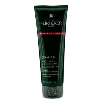 Rene FurtererOkara Radiance Enhancing Conditioner - For Color-Treated Hair (Salon Product) 250ml/8.45oz