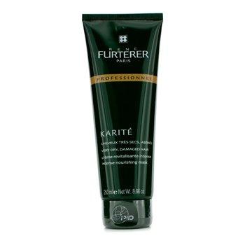 Rene Furterer Karite Intense Nourishing Mask - For Very Dry, Damaged Hair (Salon Product - Tube) 250ml/8.66oz