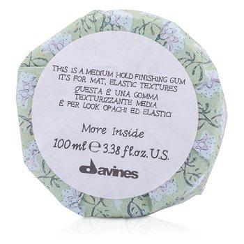 Davines�觼�����ç�ҹ��ҧ More Inside This Is A Medium Hold Finishing Gum (����Ѻ����緷�, ���״����) 100ml/3.38oz