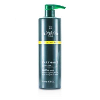 Rene Furterer Carthame Moisturizing Milk Shampoo - For Dry Hair and/or Dry Scalp (Salon Product)  600ml/20.29oz