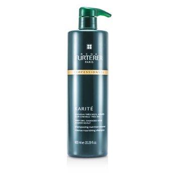 Rene Furterer Karite Intense Nourishing Shampoo - For Very Dry, Damaged Hair and/or Scalp (Salon Product)  600ml/20.29oz