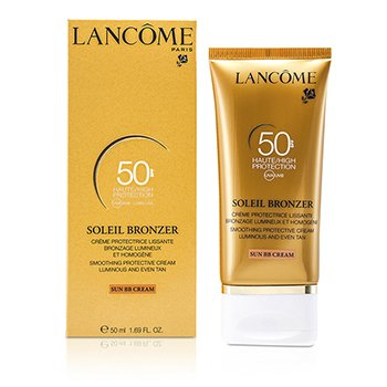 Lancome Soleil Bronzer Crema Suavizante Protectora (Crema Solar BB) SPF50  50ml/1.69oz