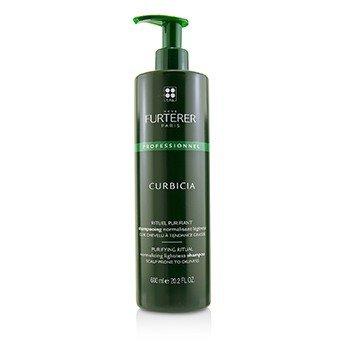 Rene FurtererCurbicia Lightness Regulating Shampoo - For Scalp Prone to Oiliness (Salon Product) 600ml/20.29oz