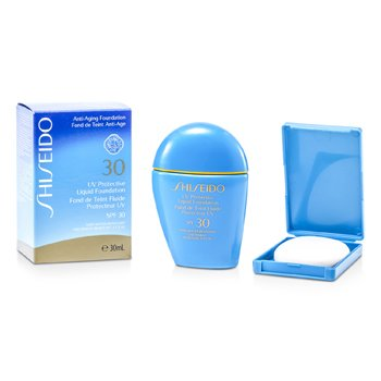 Shiseido Base L�quida Protectora UV - # SP60 Medium Beige  30ml/1oz