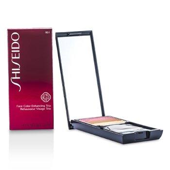 Shiseido Face Color Enhancing Trio - Pewarna Mata - RS1 Plum  7g/0.24oz