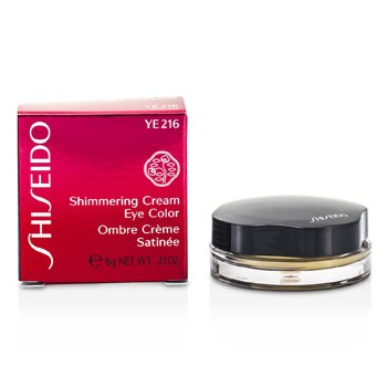 ShiseidoShimmering Cream Eye Color - # YE216 Lemoncello 6g/0.21oz