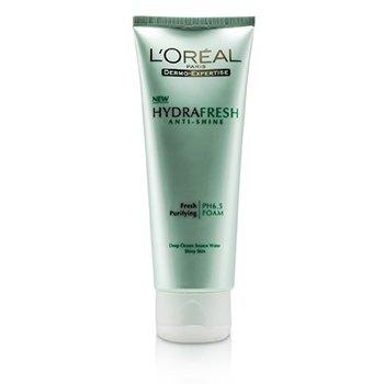 L'OrealDermo-Expertise Hydrafresh Anti-Shine Fresh Purifying Foam (For Shiny Skin) 100ml/3.3oz