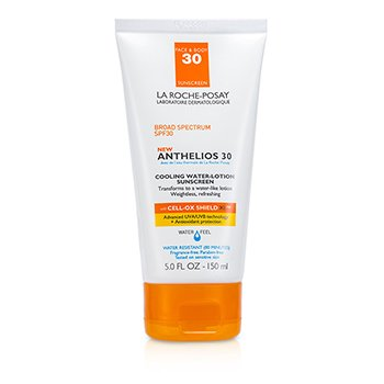 La Roche PosayAnthelios 30 Cooling Water-Lotion Sunscreen SPF 30 150ml/5oz