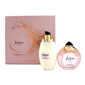 Boucheron Jaipur Bracelet Coffret: EDP Spary 100ml/3.3oz + Body Lotion 200ml/6.7oz 2pcs