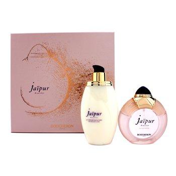 BoucheronJaipur Bracelet Coffret: Eau De Parfum Spary 100ml/3.3oz + Loci�n Corporal 200ml/6.7oz 2pcs