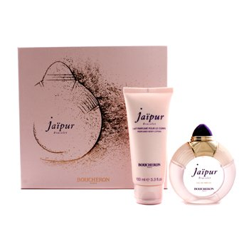 Boucheron Jaipur Bracelet Coffret: EDP Spary 50ml/1.7oz + Body Lotion 100ml/3.3oz 2pcs
