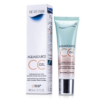BiothermAquasource Gel CC - # Fair Skin 30ml/1.01oz