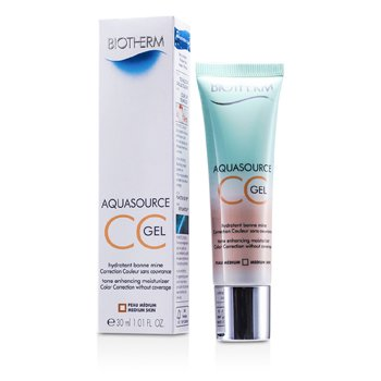 BiothermAquasource CC Gel - # Medium Skin 30ml/1.01oz
