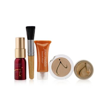 Jane IredaleStarter Kit (6 Pieces): 1xPrimer & Brighter, 1xLoose Mineral Powder, 1xMineral Foundation, ...6pcs