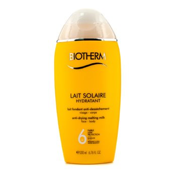 BiothermLait Solaire SPF 6 UVA/UVB Protection Melting Milk 200ml/6.76oz