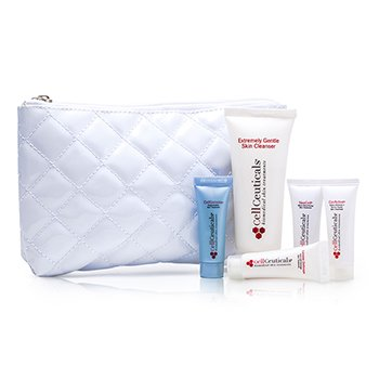 CellCeuticalsSkin Treatment System Travel Set 5pcs+1bag