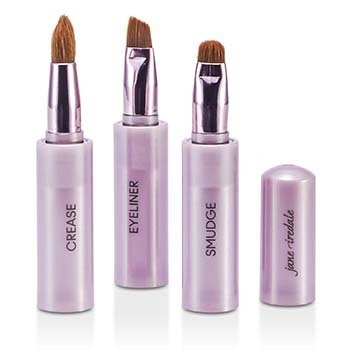 Jane IredaleSnappy Brush Wand (Crease Brush+Smudge Brush+Eyeliner Brush) 3pcs