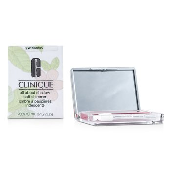 Clinique All About Shadow - # 2W Blushed (Soft Shimmer) 2.2g/0.07oz make up