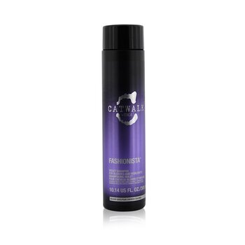 TigiCatwalk Fashionista Violet Shampoo (For Blondes and Highlights) 300ml/10.14oz