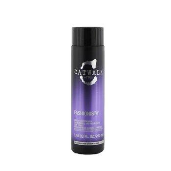 Tigi Catwalk Fashionista Фиолетовый Кондиционер (для Светлых и Мелированных Волос) 250ml/8.45oz