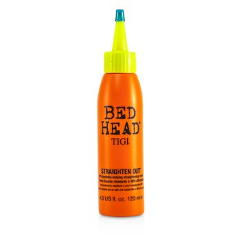 TigiBed Head Straighten Out 98% Humidity-Defying Straightening Cream 120ml/4oz