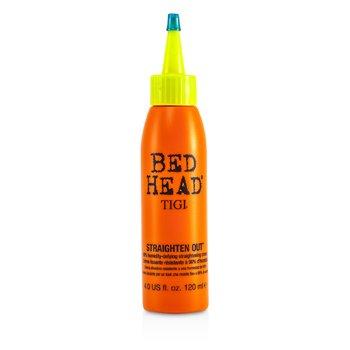 Tigi Bed Head Straighten Out 98% Humidity-Defying Straightening Cream  120ml/4oz