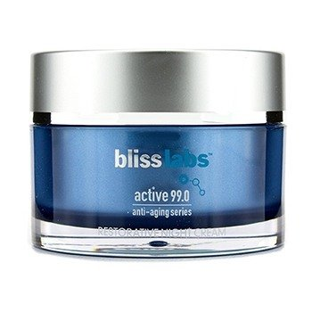 BlissBlisslabs Active 99.0 Anti-Aging Series Restorative Night Cream 50ml/1.7oz