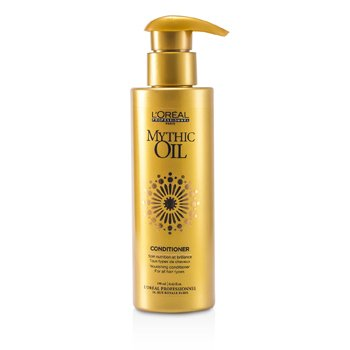 L'Oreal Mythic Oil Nourishing Conditioner (For All Hair Types)  190ml/6.42oz