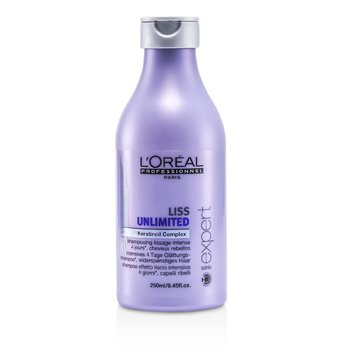 L'Oreal Professionnel Expert Serie - Liss Unlimited Smoothing Shampoo (For Rebellious Hair)  250ml/8.45oz