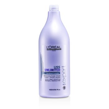 L'Oreal Professionnel Expert Serie - Liss Unlimited Smoothing Shampoo (For Rebellious Hair)  1500ml/50.7oz